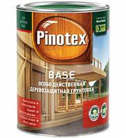 PINOTEX BASE 10 л Бесцветная деревозащитная грунтовка глубокого проникновения на основе алкидных смол