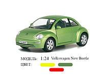 Машинка Kinsmart арт. KT7003W Volkswagen New Beetle, масштаб 1:24