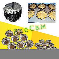 Формочки для выпечки кексов корзинок /10 шт/, фото 1