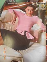 Платье по фигуре с розовым бантом V&V, фото 1