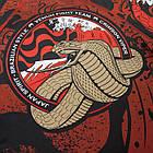 """Рашгард с коротким рукавом Venum """"Crimson Viper"""" Черная с красным, фото 3"""