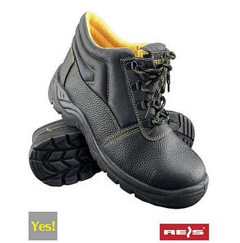 Ботинки рабочие BRYES-T-SB c металлическим носком