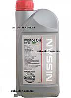 Моторное масло NISSAN Motor Oil 5W-30 DPF 1L. KE900-90033