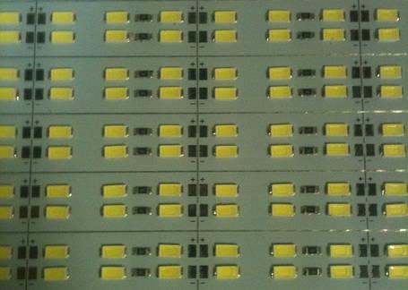 Светодиодная лента Premium SMD 5630/144 12V 6500K IP20 1м на алюминиевой подложке Код.58618, фото 2