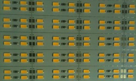 Светодиодная лента Premium SMD 5630/144 12V 3200K IP20 1м на алюминиевой подложке Код.58619, фото 2