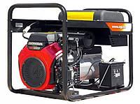 Генератор 15,5 /8 кВА, Cos 0,8/1, Honda GX690,18,8 кВт/25,6 л.с., 688 куб.см, 16 л, 126 кг AGT 16503 HSBE R16.