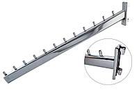 Флейта в рейку овальная 12 штырей 40 (см)