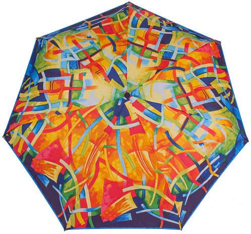 Автоматический женский зонт, антиветер AIRTON (АЭРТОН) Z4915-2001 оранжевый