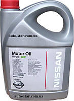 Моторное масло NISSAN Motor Oil 5W-30 DPF 5L. KE90090043