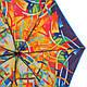 Автоматический женский зонт, антиветер AIRTON (АЭРТОН) Z4915-2001 оранжевый, фото 3