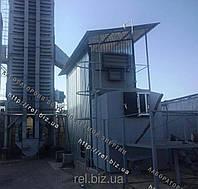 Теплогенератор для сушки зерна, фруктов, жмыха, щепы на отходах (щепе, опилках, лузге, шелухе, гранулах, пеллетах) 2 МВт, фото 1