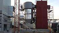 Теплогенератор для сушки зерна, фруктов, жмыха, щепы на отходах (щепе, опилках, лузге, шелухе, гранулах, пеллетах) 3 МВт