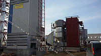 Теплогенератор для сушки зерна, фруктов, жмыха, щепы на отходах (щепе, опилках, лузге, шелухе, гранулах, пеллетах) 5 МВт