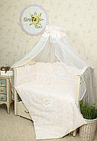 Комплект постельного белья в кроватку Нежность