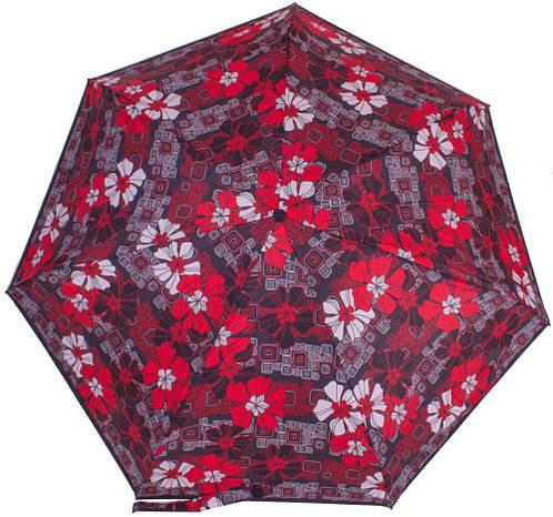 Автоматический красивый женский зонт, антиветер AIRTON (АЭРТОН) Z4915-3433 красный
