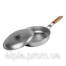 Туристическая сковорода Силумин 26 см