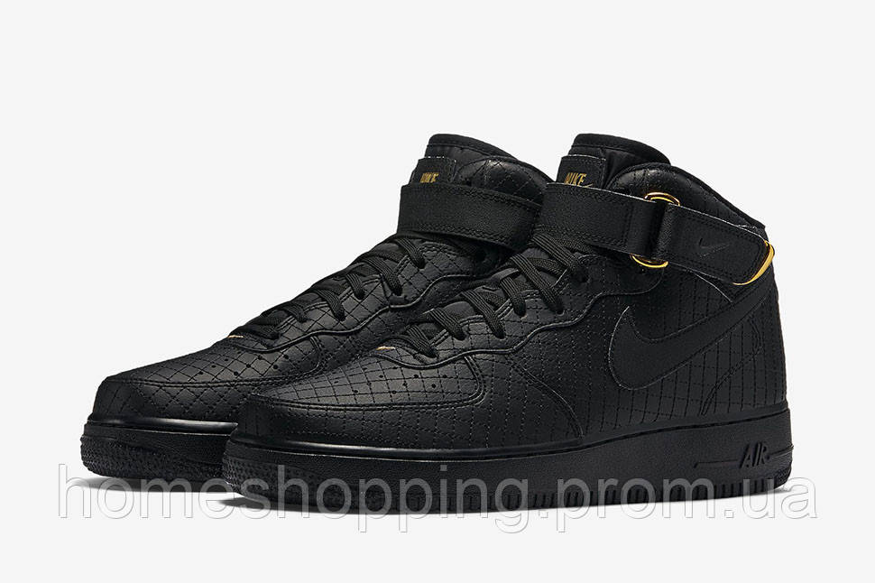 Мужские кроссовки Nike Air Force 1LV 8 Mid Elevate Black