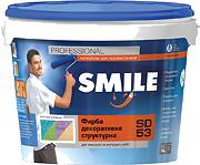 Краска Структурная Акрило-Силиконовая Smile SD-53  /16кг /10л