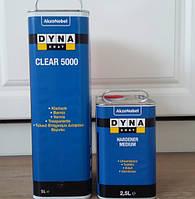 Автомобильный лак  DYNA Coat 5000 +отв (5л+2,5л)