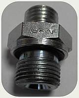 Соединение-адаптер корпус-фитинг (резьба 14х1,5 - 16х1,5 уплотнение в корпус)