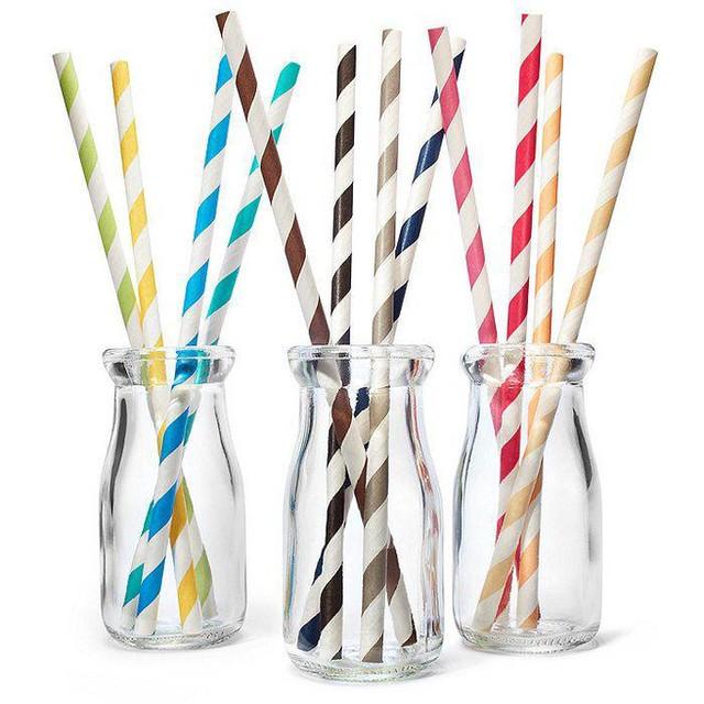 бумажные трубочки для напитков