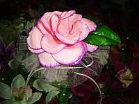 Украшение на машину на присоске Роза на ручку