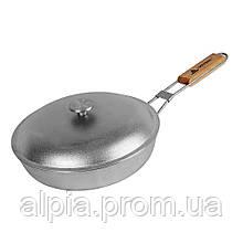 Туристическая сковорода Силумин 24 см