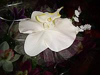 Украшение свадебных машин Орхидея на ручку