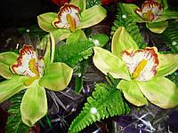 Украшение на машину на присоске Орхидея на ручку