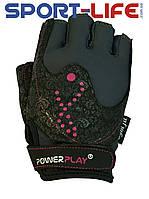 Перчатки для фитнеса от PowerPlay гламур на ЛИПУЧКЕ