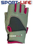 Перчатки Powerplay атлетические для фитнеса КОЖА
