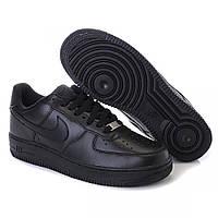 Женские кроссовки Nike Air Force 1 Low Black, фото 1
