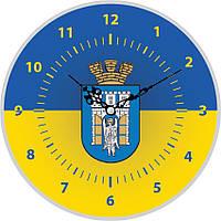 Настенные часы с символикой вашего города
