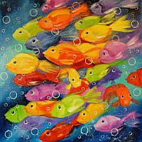 «Рыбки» картина маслом
