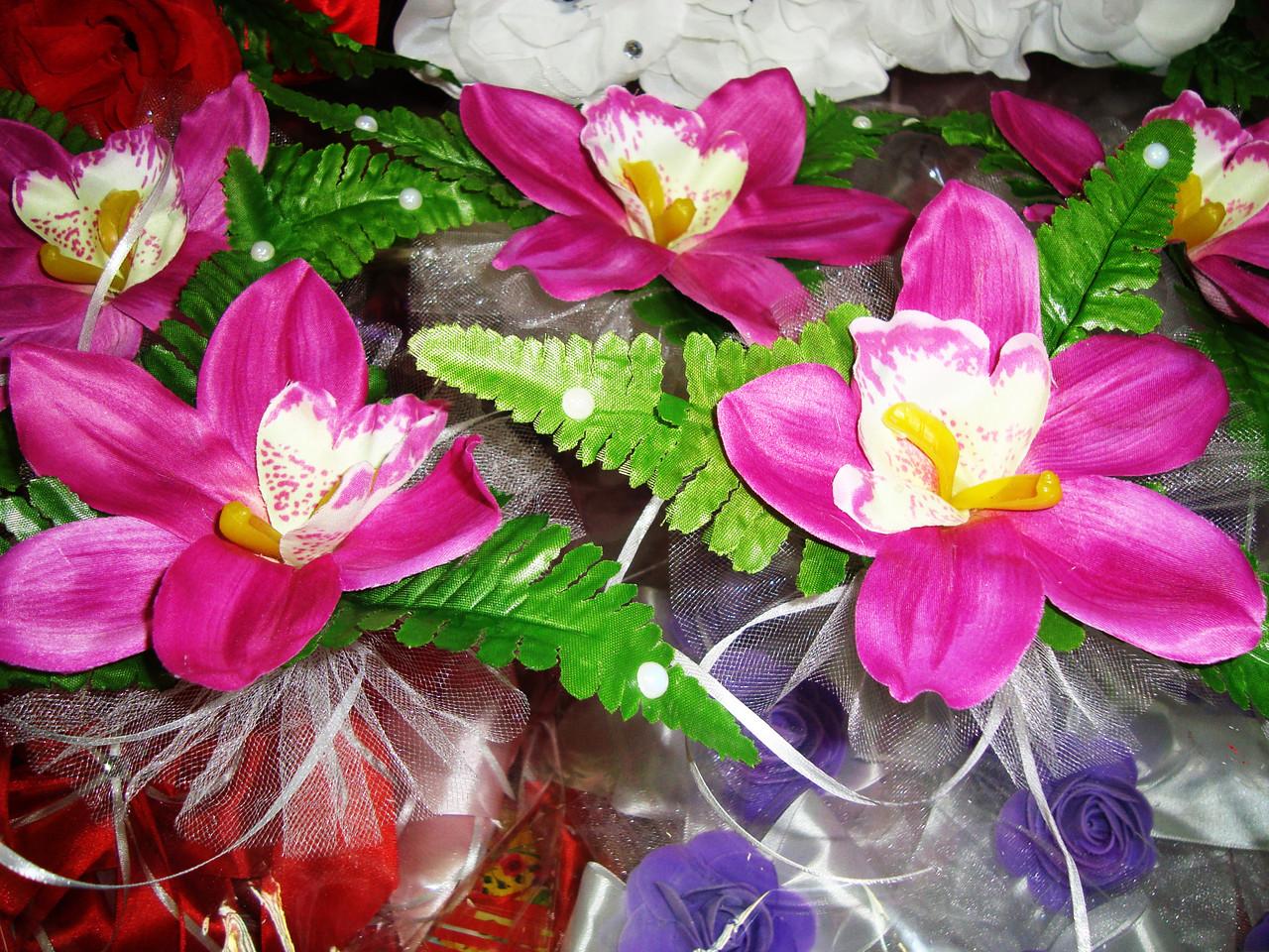 Украшение свадебных машин Ирис - Магазин свадебных аксессуаров Svadba Love в Днепре