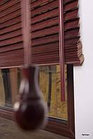 Жалюзи Бамбук 50 мм Махагони в Одессе производство под заказ приглашаем дилеров