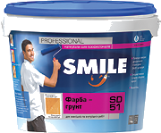 Фарба-Грунт SD-51 з дрібним піском Smile