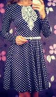 Платье Беби Долл в горошек (арт. 148894553)