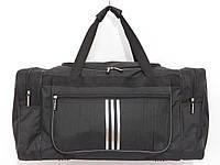 Сумка текстильная спорт вместительная черная, фото 1