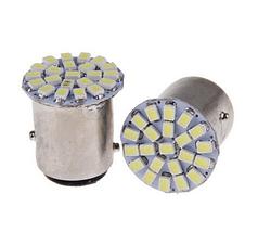 Светодиодная лампа  1157 BAY15D 3020 белый из светодиодов 22 СМД P21 / 0,5 Вт  P21w