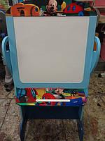 Детский мольберт  доска для рисования «Мики маус» двухсторонняя  В18263