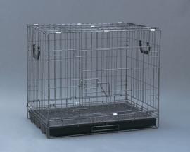 Foshan (Фошан) Клетка для собак, металлическая, 509K размер  77х52х62 см.
