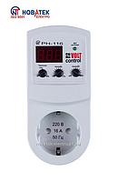 Реле контроля напряжения РН-116 3,5 КВТ (16А) однофазное Новатек-Электро