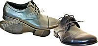 Туфли модельные на шнурке 'Охранник' кожа