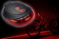Велосипедный лазерный стоп задняя фара дорожка, Задний стоп с лазерными габаритами