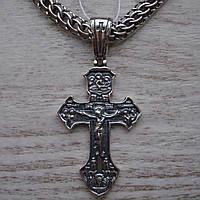 Серебряный крестик с распятием, 5,8 грамма