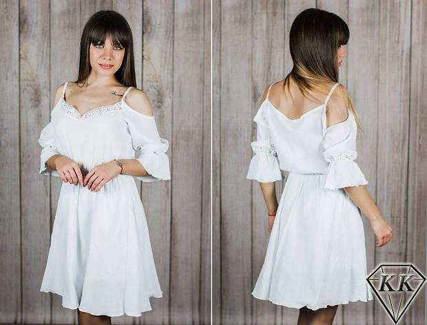 Белое платье 152043, фото 2