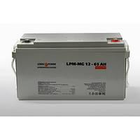 Мультигелевый аккумулятор LPM-MG12 - 65 AH LogicPower