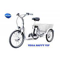 Трехколесный электровелосипед VEGA Happy VIP, фото 1