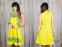 Желтое платье 152042